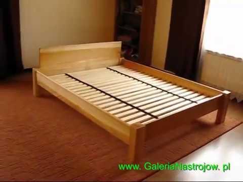 łóżko Do Sypialni Z Drewna Jesionowego Paula Konarmeblepl