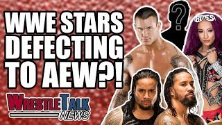 Randy Orton, The Usos, Sasha Banks & More To AEW Wrestling?! | WrestleTalk News Feb. 2019