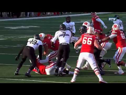 College Football - Northwestern at Wisconsin on 11-21-2015