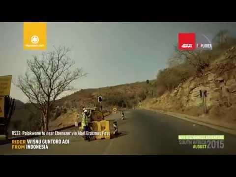 Motorcycle Riding South Africa: DAY 3 Trip 5, Polokwane to near Ebenezer via Abel Erasmus Pass