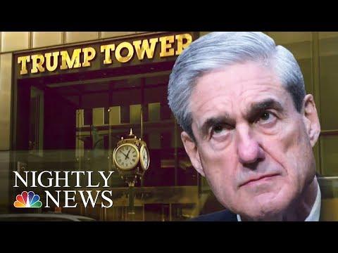 Robert Mueller Subpoenas President Donald Trump Organization For Russia Records   NBC Nightly News