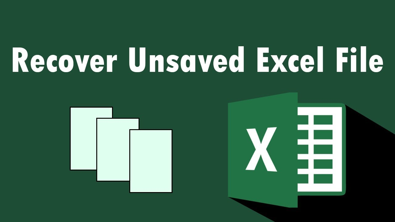 recover lost excel document mac
