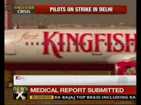 Kingfisher Pilots Strike Over Non-payment Of Salaries - NewsX