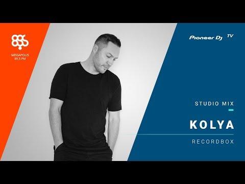KOLYA megapolis 89.5 fm /recordbox/ @ Pioneer DJ TV | Moscow