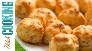 Gougères - Spicy Parmesan Cheese Puffs