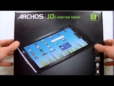 archos 101 internet tablet video clips. Black Bedroom Furniture Sets. Home Design Ideas