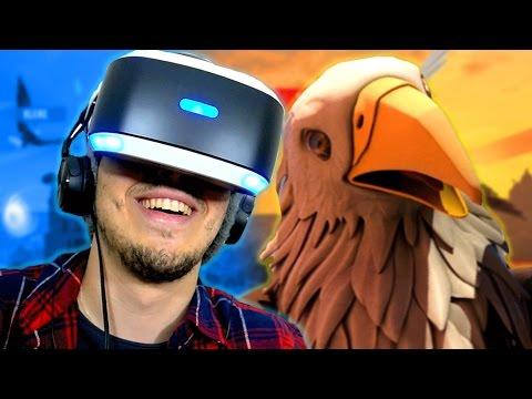 ENTÃO VOAR É ASSIM | Eagle Flight - ( Playstation VR Gameplay / Playstation 4 PRO em Português )