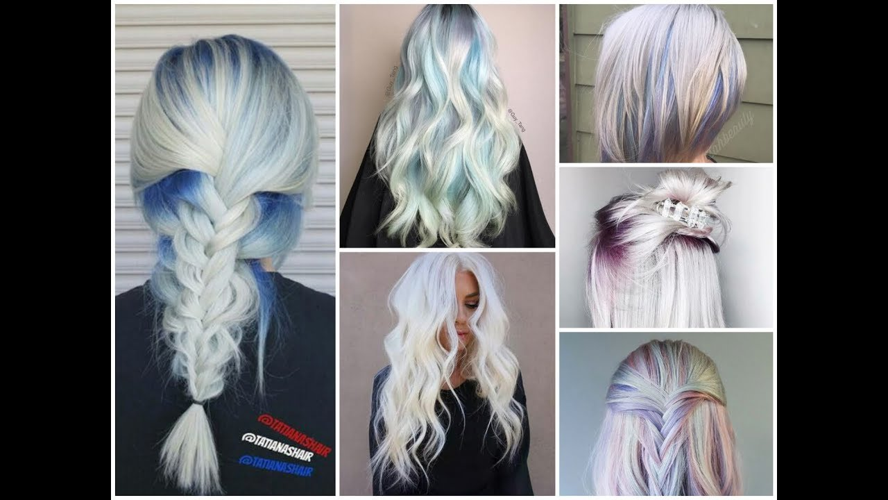 Trendy Ice Blonde Balayage Hair Colors Ideas For Winter 2018 2019