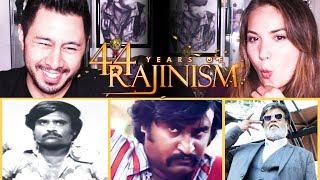 44 YEARS OF RAJINISM | Superstar Rajinikanth | Reaction w/ Jaby & Miriam