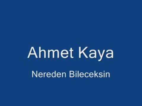 Ahmet kaya ben yoruldum hayat gelme üstüme