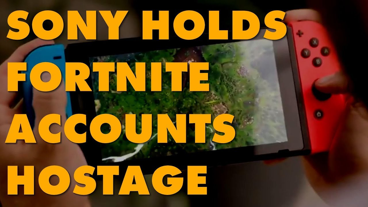 Sony Idiocy: If You Played Fortnite On PS4, Your Account Won't Work On Switch