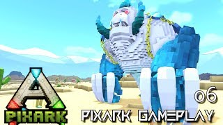 PixARK: NEW TAMES EPIC DINOS & CREATURES E06 !!! ( Pix ARK GAMEPLAY EARLY ACCESS )