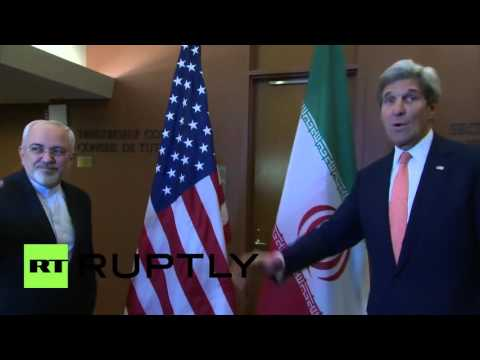 USA: Kerry meets Iran's Zarif at UNHQ for Syria, nuclear talks
