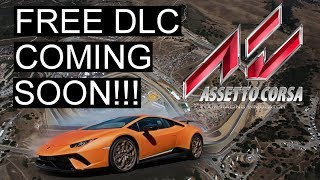 New Free Assetto Corsa DLC Due to Release This Month! New Cars & Track