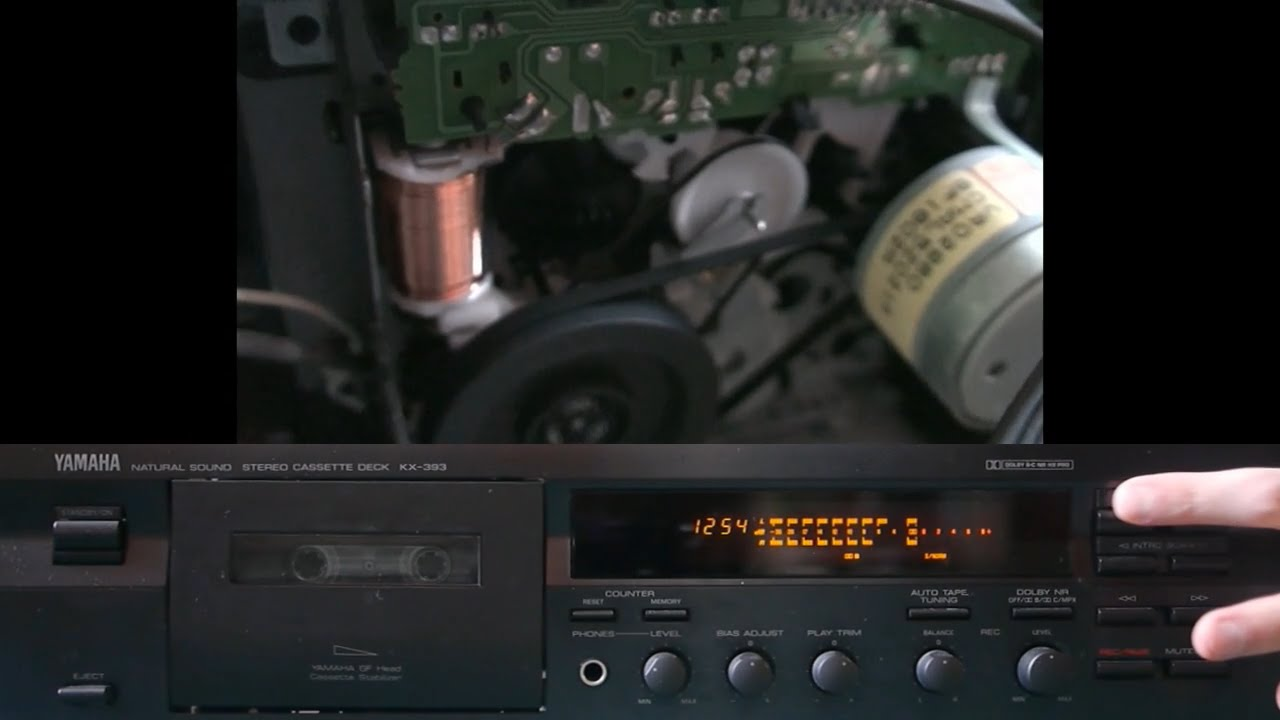 Inside a cassette deck dolby noise reduction demo youtube for Balcony noise reduction