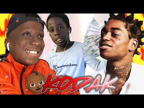 THIS GANGSTER KID IS THE NEW KODAK BLACK!