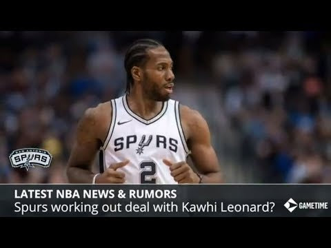 NBA News & Rumors: Kawhi Leonard Staying With Spurs, Karl-Anthony Towns And Kyrie Irving Trade