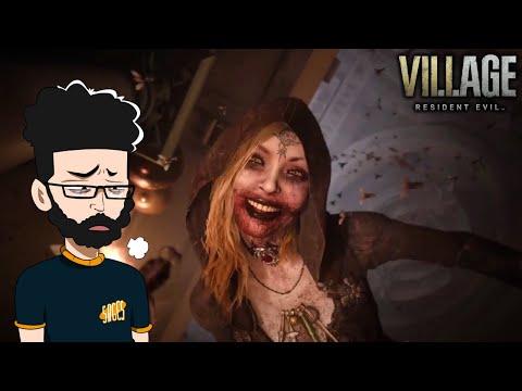 She Keeps Biting Me! Resident Evil Village Demo - Castle
