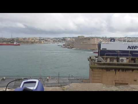 Air pollution measurement exercise in Valletta