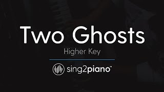 Two Ghosts [HIGHER Piano Karaoke] Harry Styles