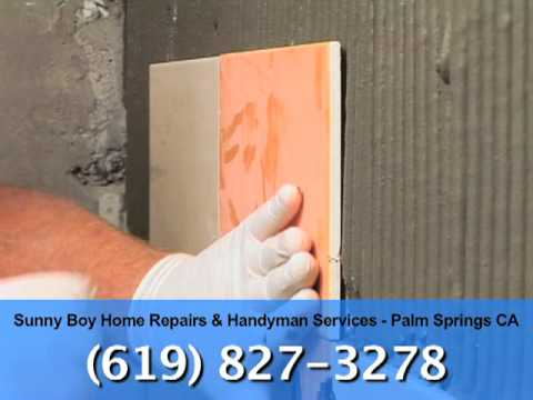 Sunny Boy Home Repairs & Handyman Services - Palm Springs CA