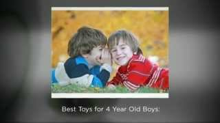 Best Toys for 4 Year Old Boys - 2014-2015 Top 5 List
