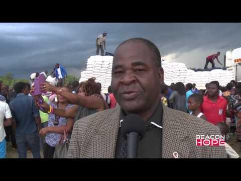 Humanitarian aid to the needy-Prophet Shepherd Bushiri