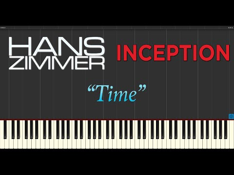 Hans Zimmer - Time (OST Inception) (Piano Tutorial Synthesia)