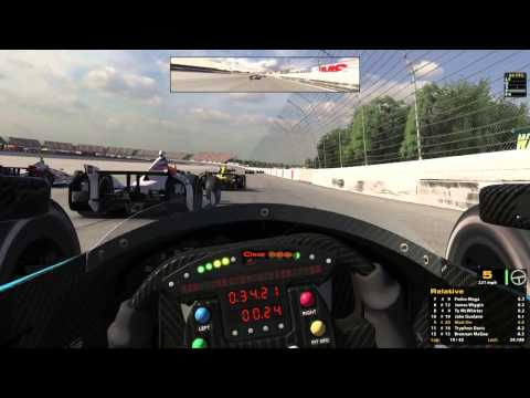 iRacing : Hold Your Line! (Indycar Fixed @ Michigan)