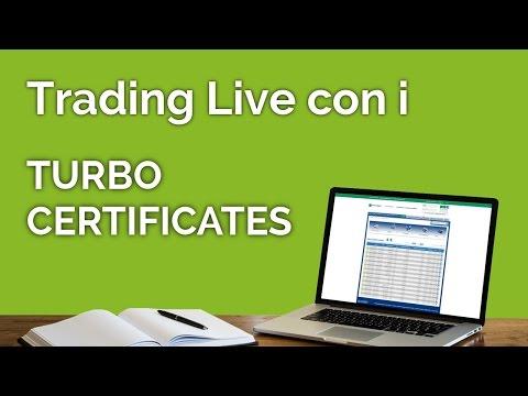 Trading Live con i Turbo Certificates - Enrico Lanati - 23/03/2017