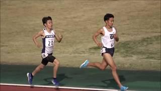 関東私学六大学対抗陸上2019 男子3000m