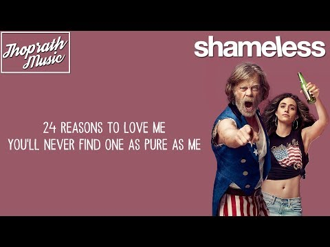 Gladius - 24 Karat 2016 feat. Klara Elias (Lyrics) Shameless S8E8 Song/Soundtrack