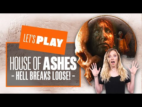 Let's Play Dark Pictures: House of Ashes - HELL BREAKS LOOSE! House of Ashes PS5 Gameplay