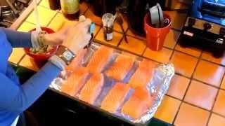 Scrumptious Baked Salmon