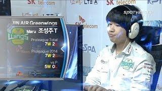 [프로리그2014] 조성호(IM) vs 조성주(진에어) 4세트 프로스트 -EsportsTV,프로리그2014