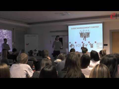 Event Management Contest: Otvaranje natjecanja
