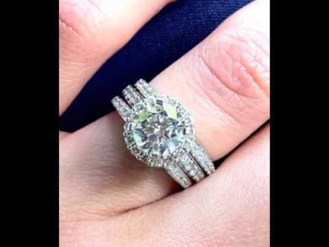 Custom Wedding Rings San Diego California   Vanessa Nicole Jewels Wedding  Rings