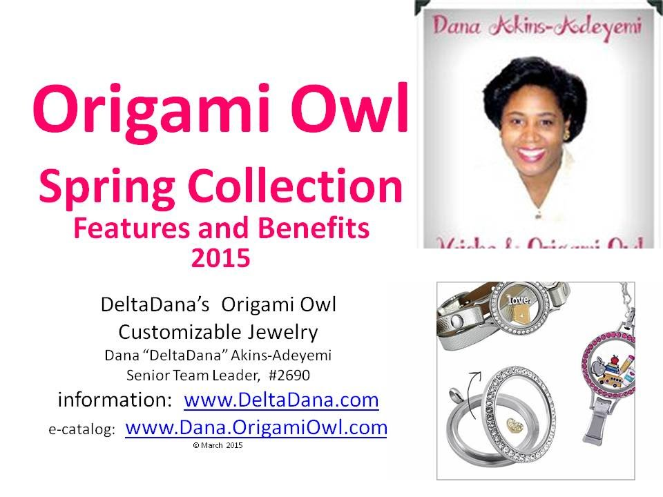 Origami Owl Spring 2015 Features And Benefits Deltadana Youtube