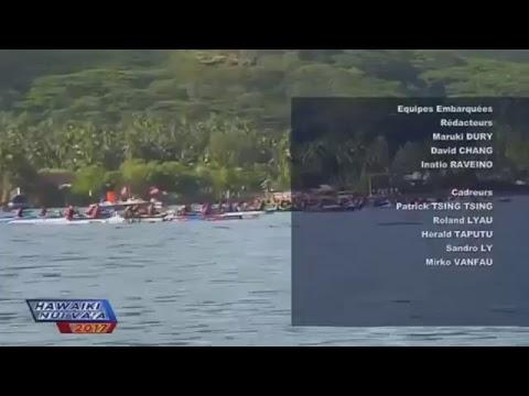 Hawaikinui Va'a 2017 - Etape 3 - Vendredi 3 Novembre 2017