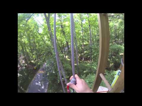 Go Ape Rope Course Rockville Maryland 14 June 2014