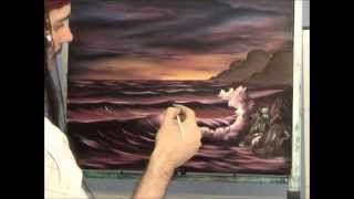 Seascape Oil Painting Lesson