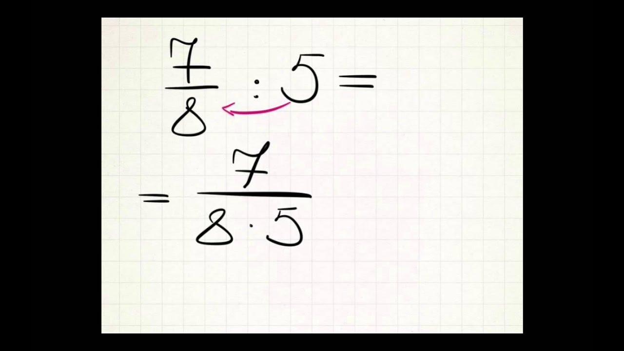 Деление смешанного числа на натуральное число