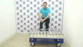 видео транспортировка поддона