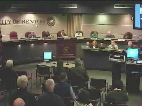Renton City Council - March 11, 2013