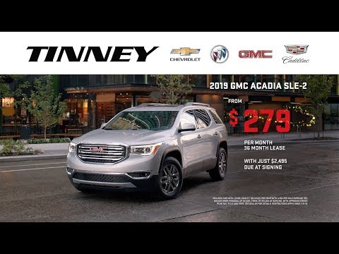 The GMC Acadia and Terrain are Here with Incentives and Lease Offers