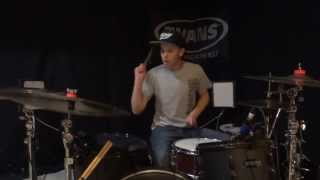 One Direction - Diana - Drum Cover - Rock Remix - Brooks