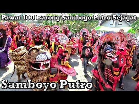 Pawai SERATUS SINGO  BARONG Samboyo Putro Sejagat---Meriah & Seru--Nyadranan Ngetrep Prambon