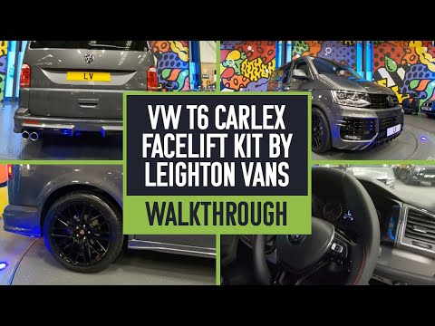 New Face Lift Kit By CARLEX VW T6 - BY LEIGHTON VANS
