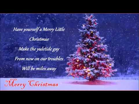 Have Yourself a Merry Little Christmas - The Carpenters - YouTube