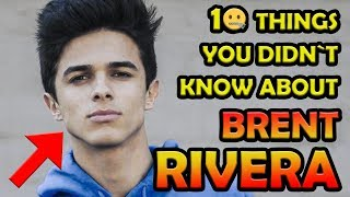Mr Brent 98 🌟 10 Things You Didn`t Know About BRENT RIVERA! 🤷 Born2BeViral 🔥